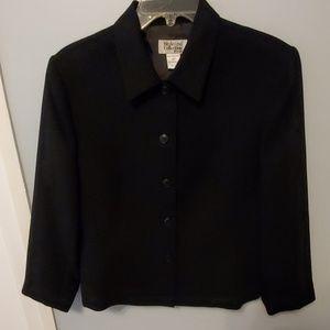 Style & Co Petite Black Jacket / Blazer - Like new